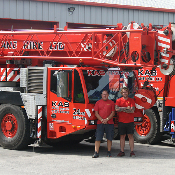 80 tonne crane driver andrew and brian company directors