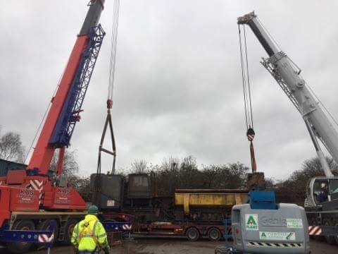 70 Tonne Crane Travels to Birmingham for Tandem Lift