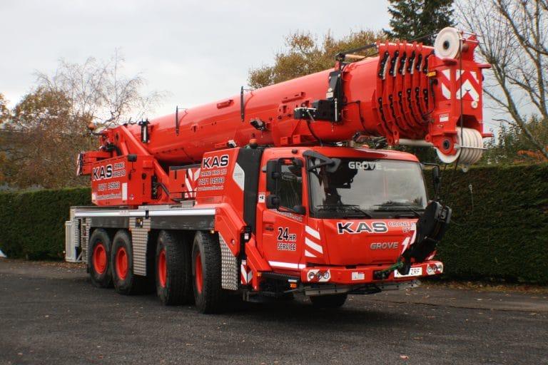 100 tonne crane