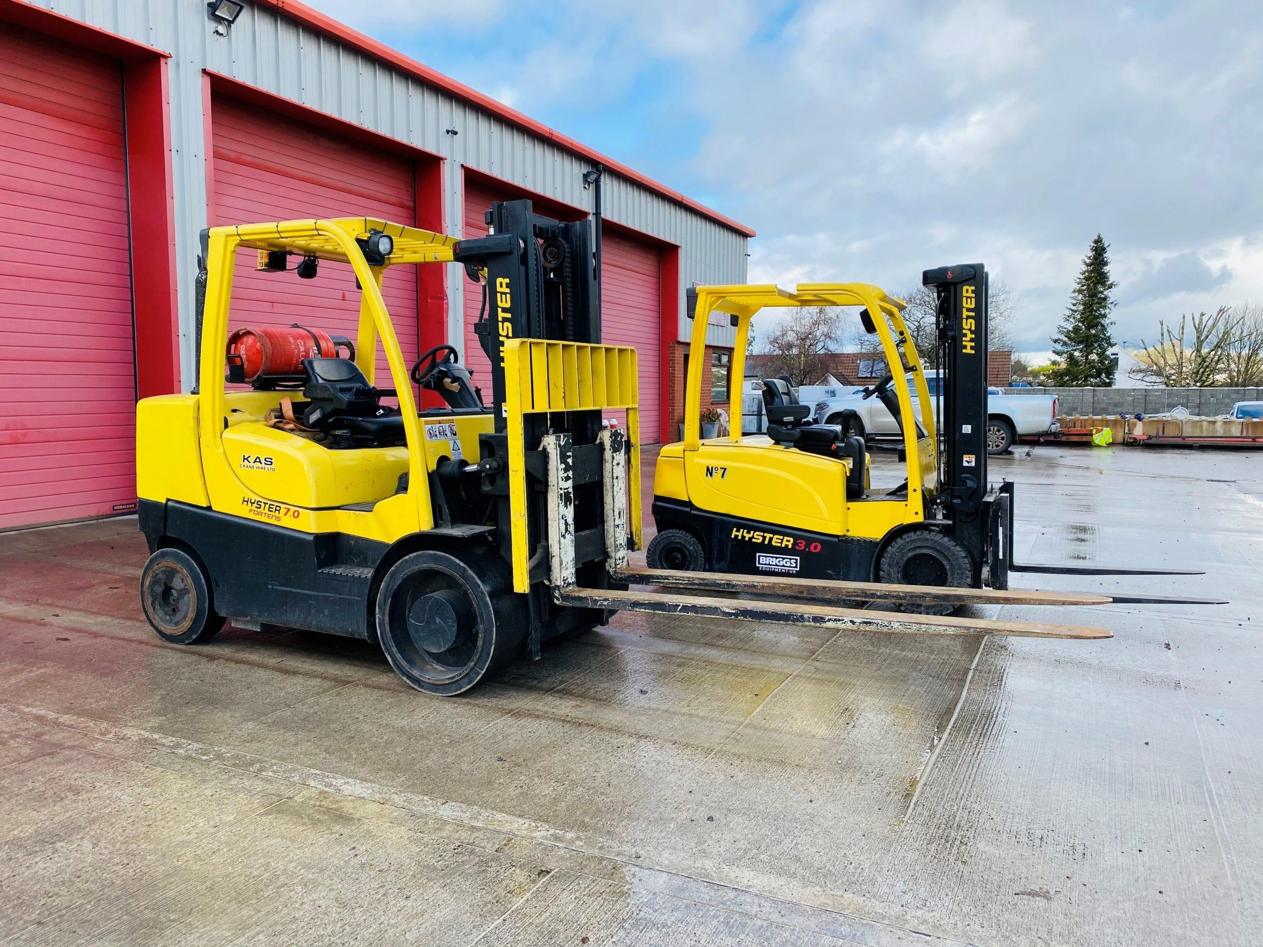 Forklift Hire - KAS Crane Hire